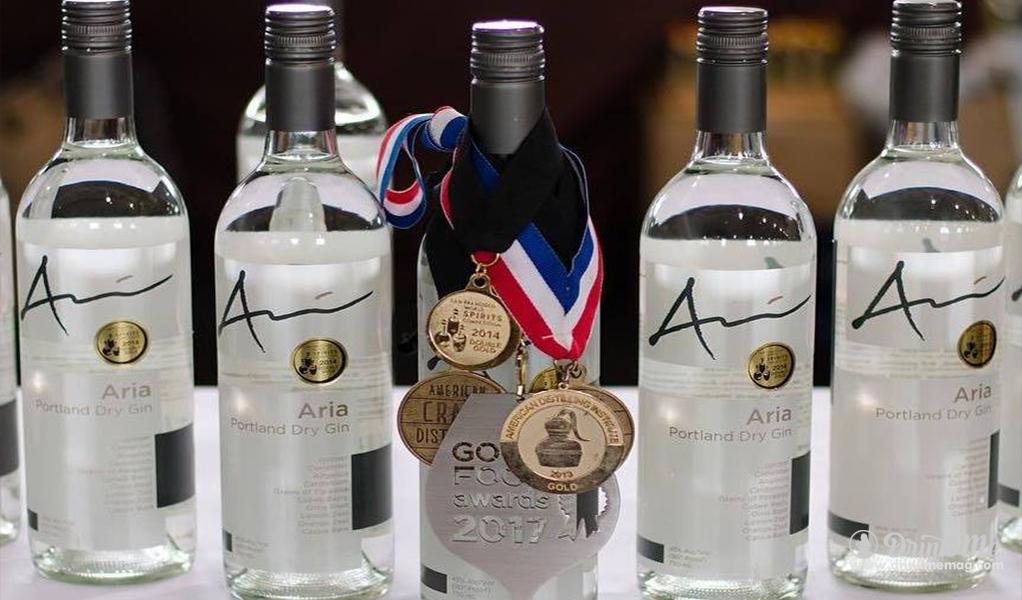 Aria Gin drinkmemag.com drink me Top Craft Distilleries in Oregon