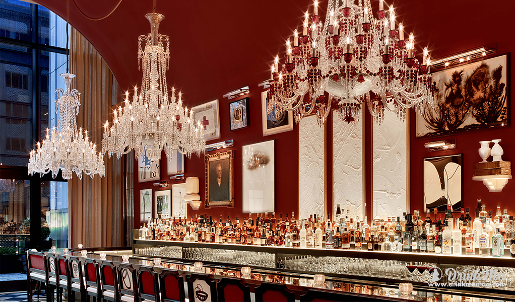 Baccarat Hotel NYC The Bar drinkmemag.com drink me Baccarat Hotel