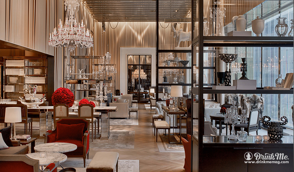 Baccarat hotel residences new york drink me for Salon equip hotel 2017