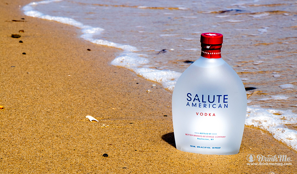 Beach Bottle Shot drinkmemag.com drink me Salute Vodka