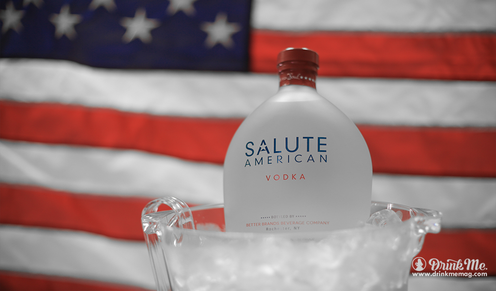 Bottle Flag drinkmemag.com drink me Salute Vodka