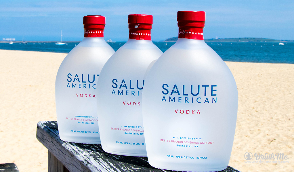Bottles on Beach drinkmemag.com drink me Salute Vodka