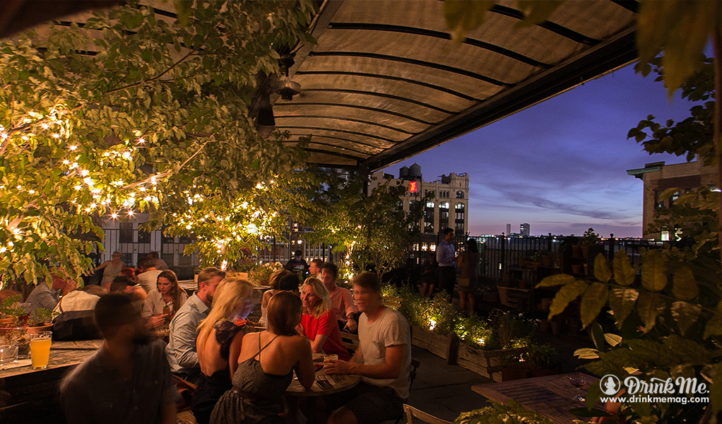 Gallow Green terrace view night drinkmemag.com drink me Rooftop Season