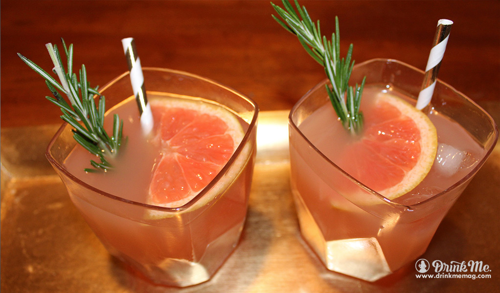 Grapefruit-Rosemary Cocktail drinkmemag.com drink me Salute Vodka