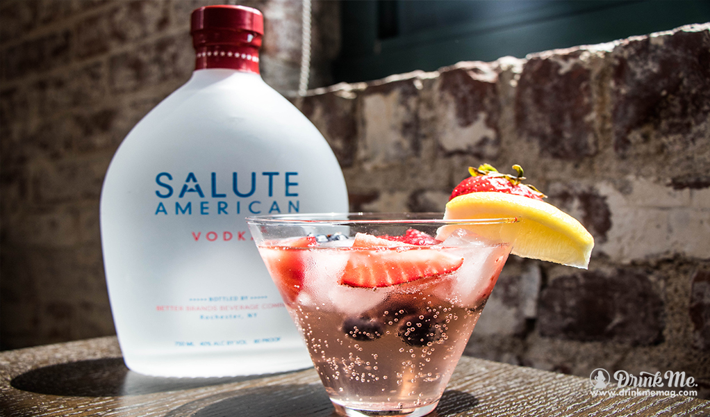 PatrioticSalute drinkmemag.com drink me Salute Vodka