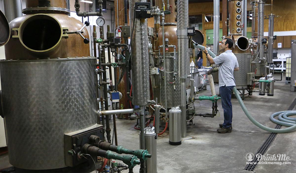 clear-creek-distillery-daniel-ruiz-head-distiller-cleans-tanks drinkmemag.com drink me Top Craft Distilleries in Oregon