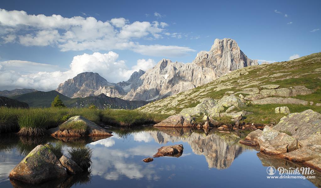 Dolomiti Pond of Beauty drinkmemag.com drink meMezza Di Mezzacorona
