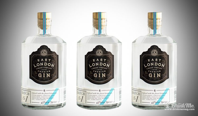 East London Gin Premium Batch No1 drinkmemag.com drink me East London Gin