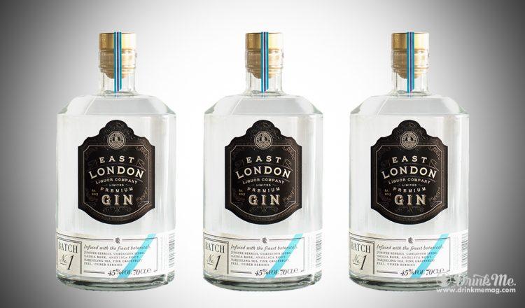 East London Gin Premium Batch No1 drinkmemag.com drink me East London Gin