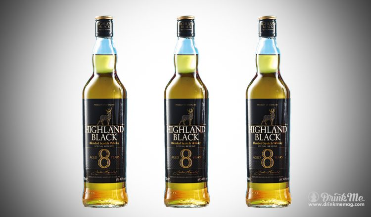 Highland Black 8 Year Old Scotch Whisky drinkmemag.com drinkn me Aldi Whiskey