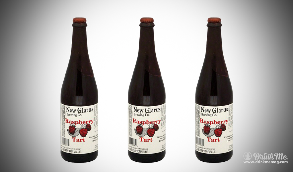New Glarus Brewing Co Raspberry Tart drinkmemag.com drink me Top Raspberry Beer