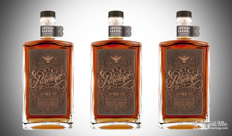 Orphan Barrell Whiskey Rhetoric 23Year drinkmemag.com drink me Rhetoric 23 Whiskey