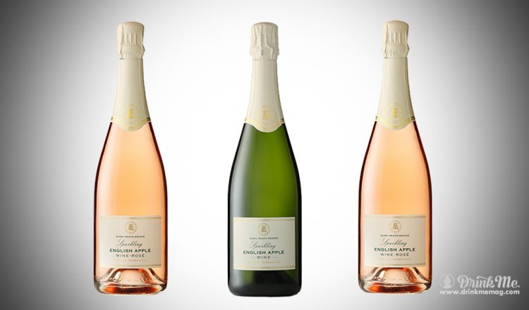 Sparkling English Apple Rose and White drinkmemag.com drink me Hush Heath English Sparkling Apple