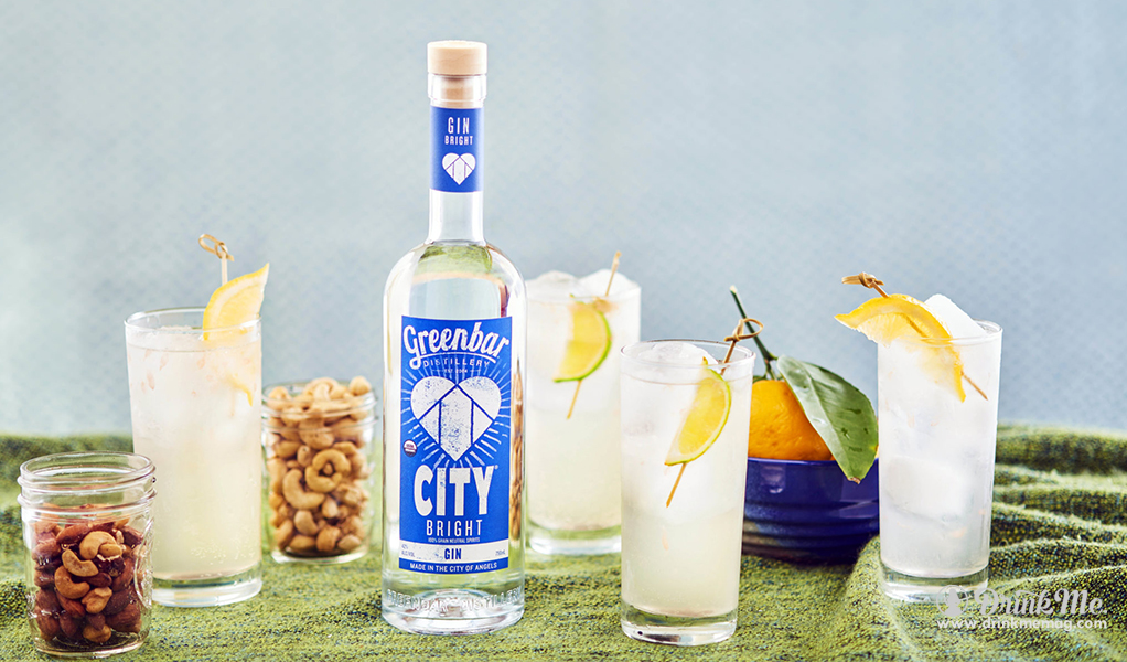 CITY Bright Gin Greenbar Distillery drinkmemag.com drink me City Bright Gin Campaign