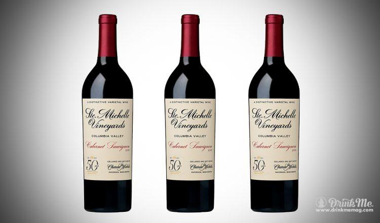 Chateau Ste. Michelle CS drinkmemag.com drink me Chateau Ste. Michelle's Limited Edition 50th Anniversary