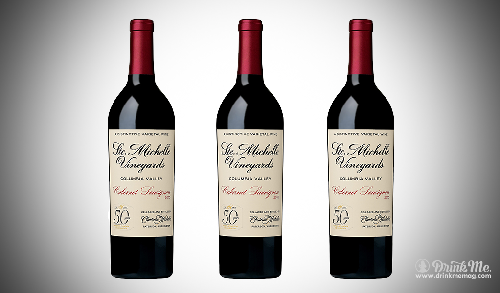 Chateau Ste. Michelle CS drinkmemag.com drink me Chateau Ste. Michelle's Limited Edition 50th Anniversary