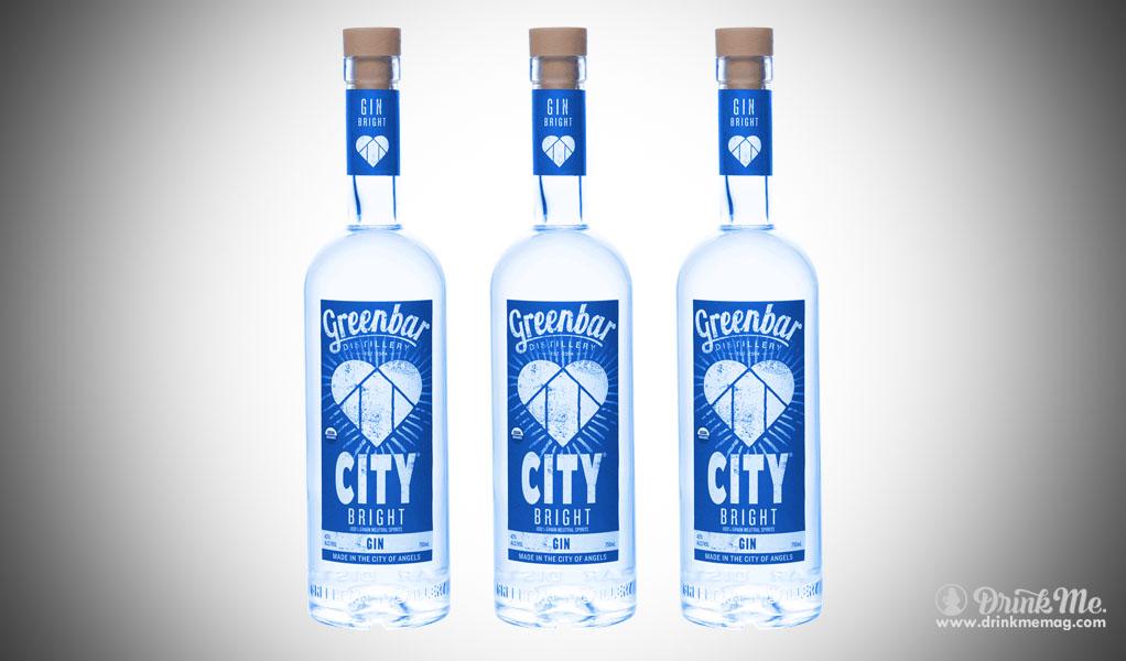 City Bright Gin Greenbar Distillery drinkmemag.com drink me