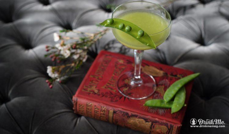 Cocktail drinkmemag.com drink me Garden Pea Cocktail