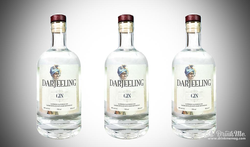 Darjeeling Gin drinkmemag.com drink me Top Californian Gins