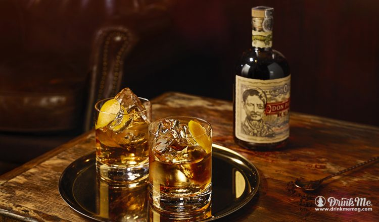 Don Papa Old Fashioned Cocktail drinkmemag.com drink me Don Papa Rum