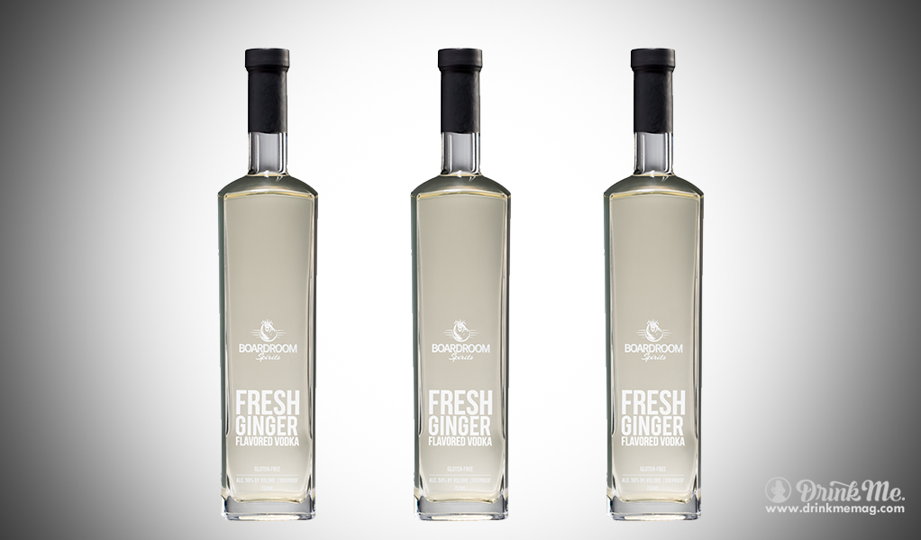 Fresh Ginger Flavored Vodka drinkmemag.com drink me FRESH Ginger Vodka