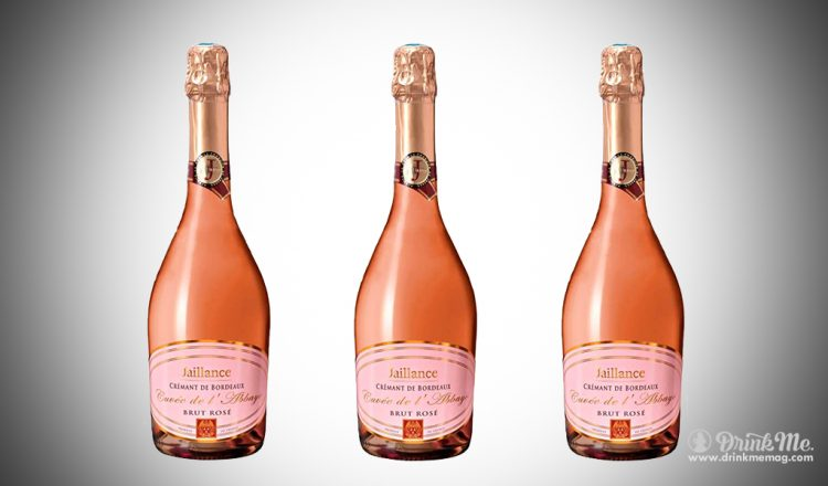 Jaillance, Cremant de Bordeaux Brut Rose drinkmemag.com drink me CIVB 2017