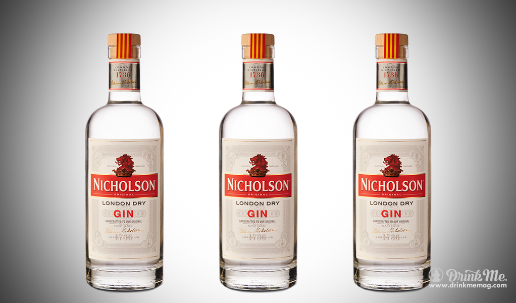 Nicholson Gin drinkmemag.com drink me Nicholson GinNicholson Gin drinkmemag.com drink me Nicholson Gin