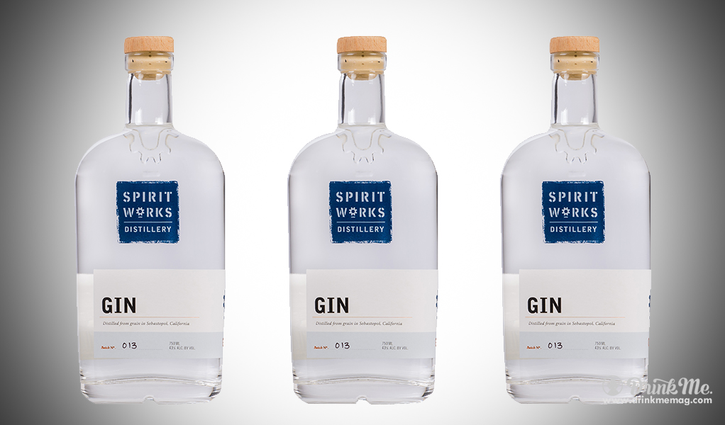 Spirit Works Gin drinkmemag.com drink me Top Californian Gins