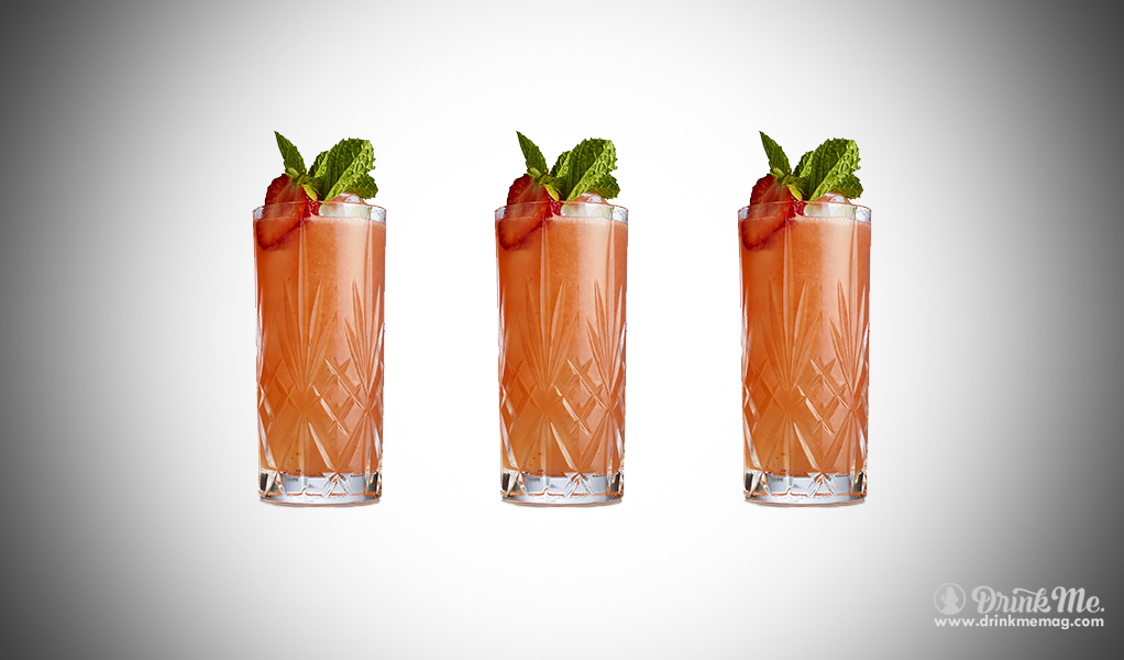 Strawberry Cooler drinkmemag.com drink me Gin Lane
