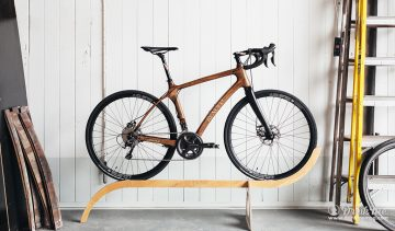 Bike in Renovo workshop on stand drinkmemag.com drink me Glenmorangie X Renovo Collaboration