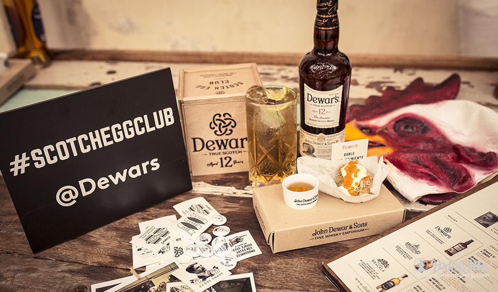 Dewar Scotch Egg Gold Club Image 1 drinkmemag.com drink me DewarScotch Egg Gold Club