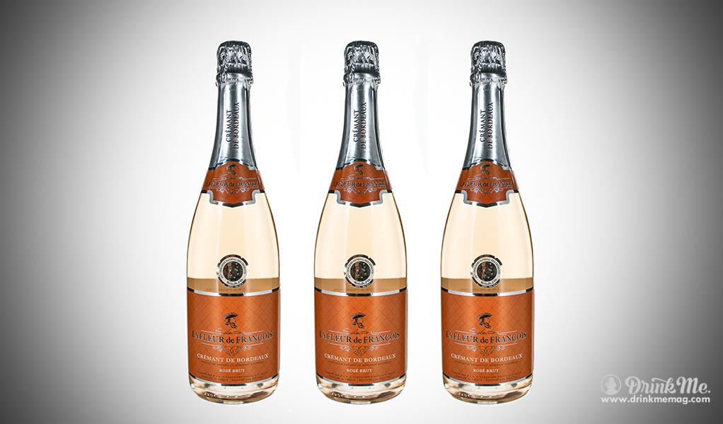 Fleur de Franáois CrÇmant Ros 2017 drinkmemag.com drink me Sparkling