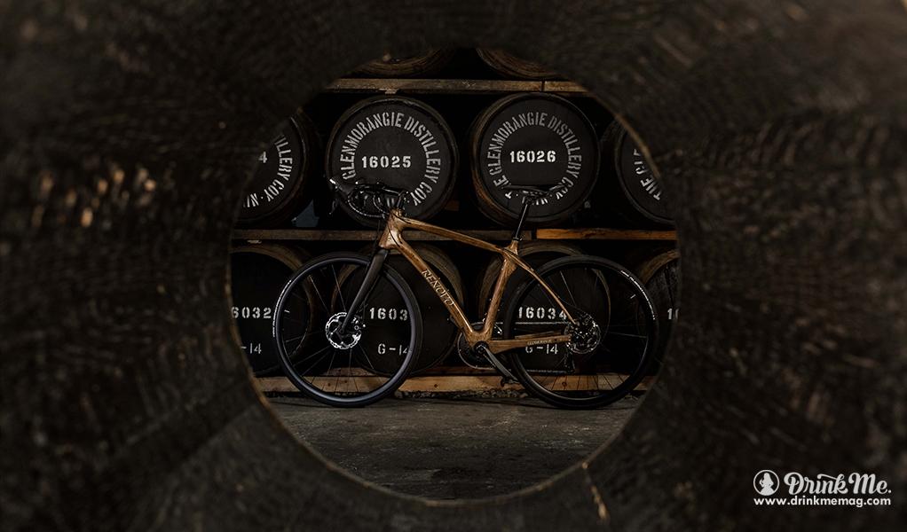 Hero Glenmorangie Distillery bike shot drinkmemag.com drink me Glenmorangie X Renovo Collaboration