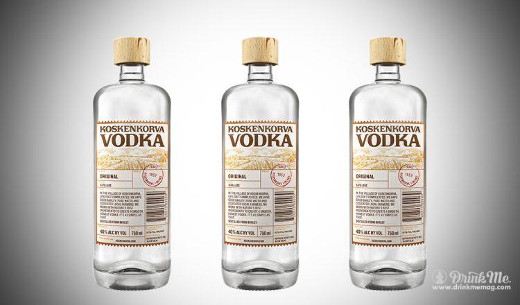 Koskenkorva Vodka drinkmemag.com drink me Koskenkorva Vodka