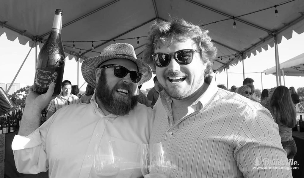 Morgan and Chris drinkmemag.com drink me Sparkling Wine