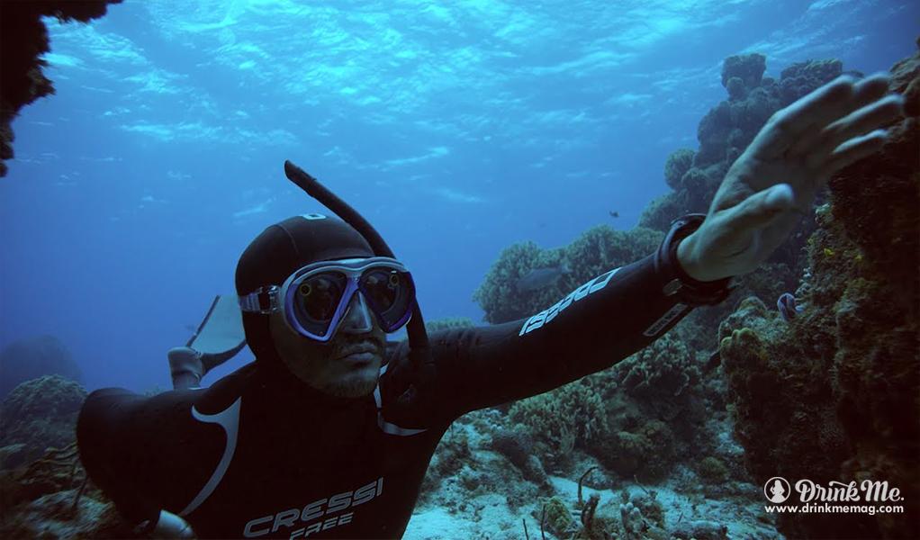 Royal Caribbean SeaSeeker Snapchat Underwater Scuba Mask drinkmemag.com drink me Royal Caribbean