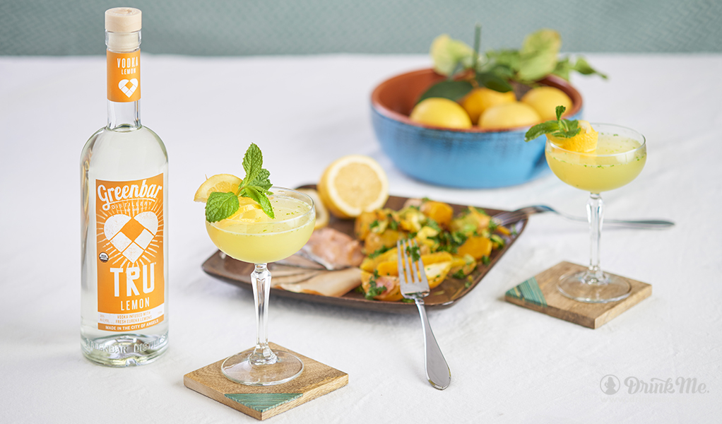TRU Lemon Vodka 1 drinkmemag.com drink me Greenbar Distillery Campaign