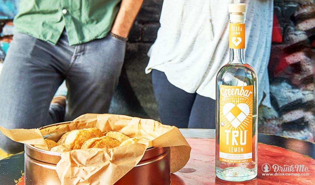 Tru Lemon drinkmemag.com drink me Greenbar Distillery Campaign