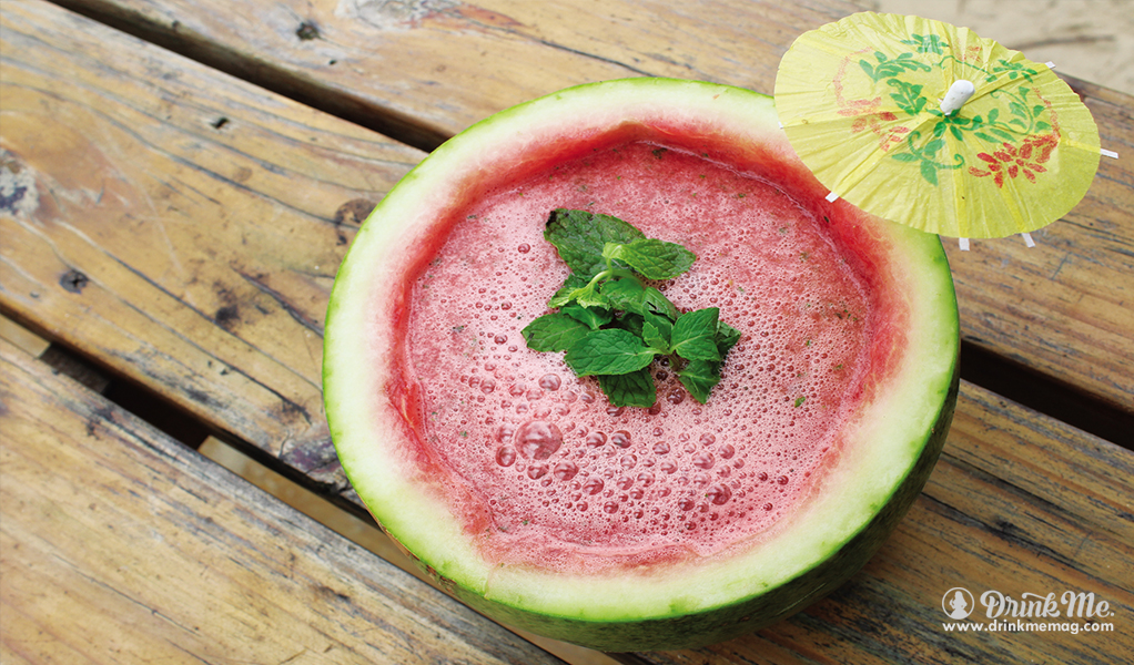 Watermelon Mojito drinkmemag.com drink me Refreshing Cocktails