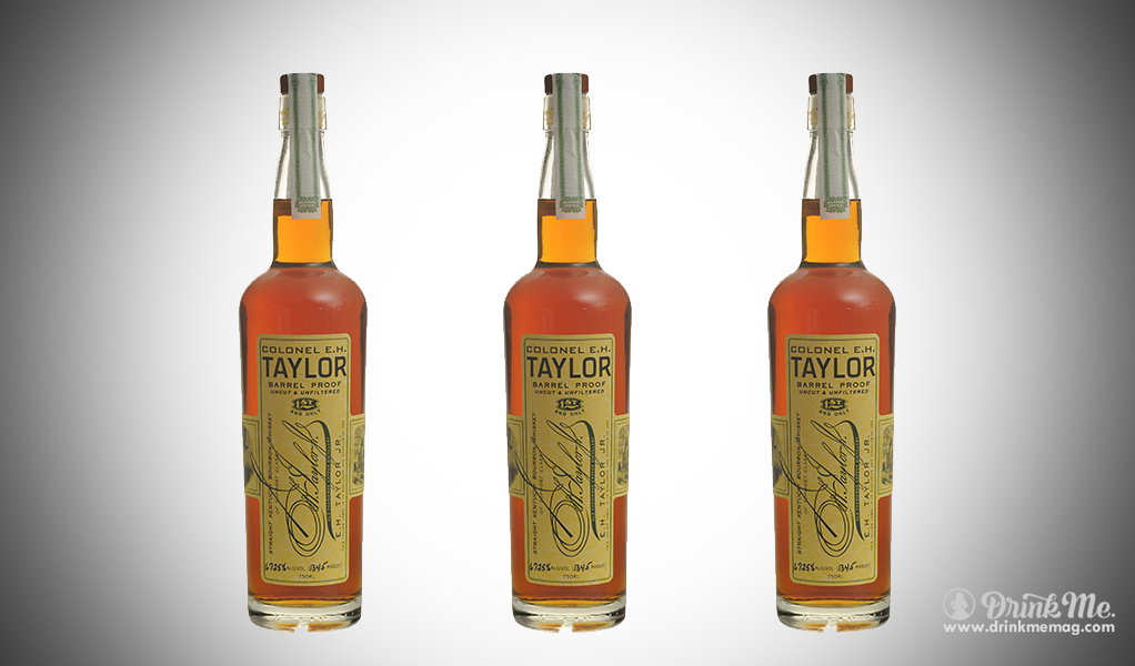 eh taylor drinkmemag.com drink me Top Bourbons