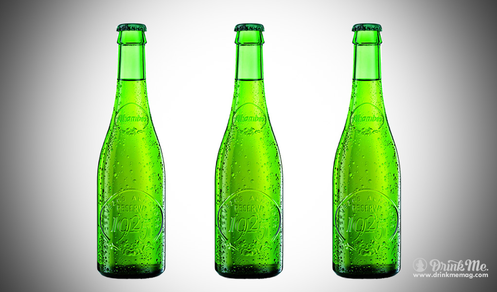 Alhambra Reserva 1925 drinkmemag.com drink me Top Spanish Beers