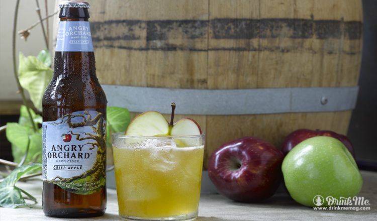 Angry Orchard drinkmemag.com drink me Orchard Harvest Cocktail