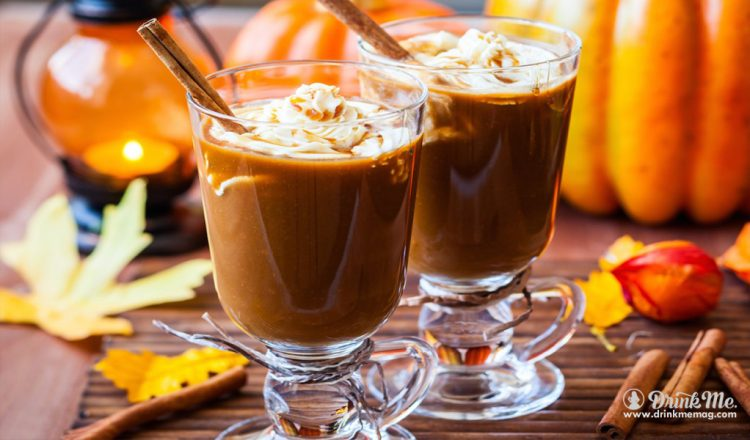 Autumn Spiced Irish Coffee drinkmemag.com drink me 3 Sppokky Food and Drink Pairings
