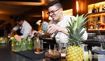 Gil Bouhana Mixing Cocktails drinkmemag.com drink me Sir Henri