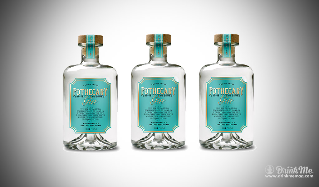 Britain S Newest Gem Pothecary Gin Drink Me