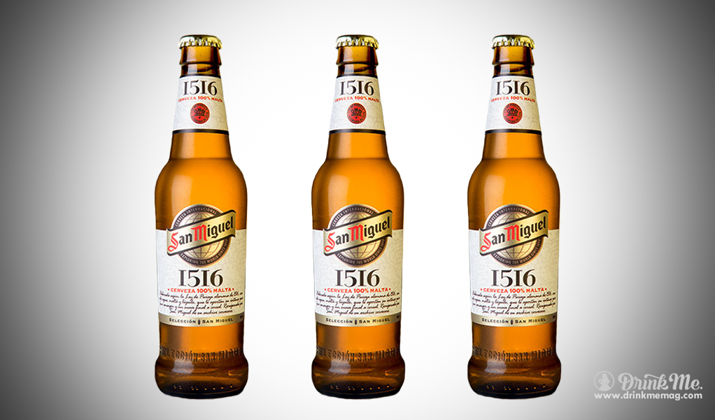 San Miguel 1516 drinkmemag.com drink me Top Spanish Beers