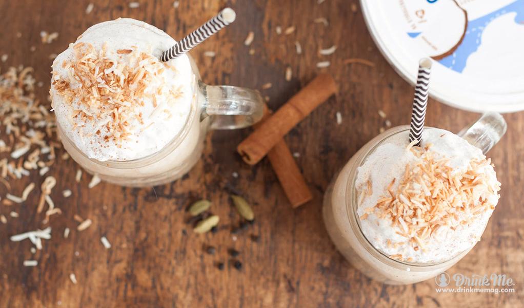 Spicy Chai Tea Latte drinkmemag.com drink me 3 Spooky Food and Drink Pairings
