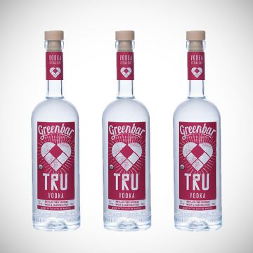 TRU Vodka drinkmemag.com drink me greenbar distillery
