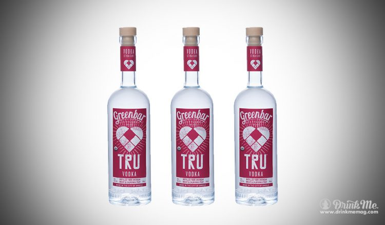 TRU Vodka drinkmemag.com drink me greenbar distillery
