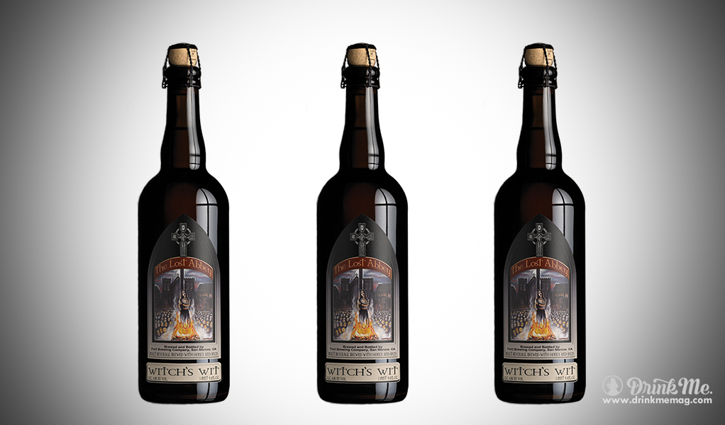 The Lost Abbey Witchs Wit drinkmemag.com drink me Halloween Beers